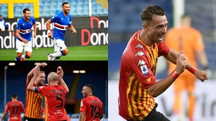 Super Caldirola e Letizia regalano la vittoria al Benevento. Sampdoria rimontata