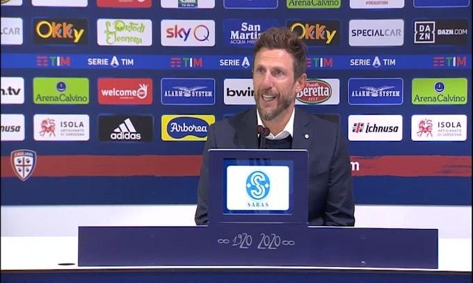 """Di Francesco: """"Il Cagliari deve crescere"""""""