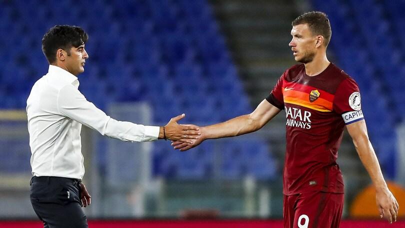 Roma, Dzeko contro tutto. Lazio, ecco Pereira VIDEO