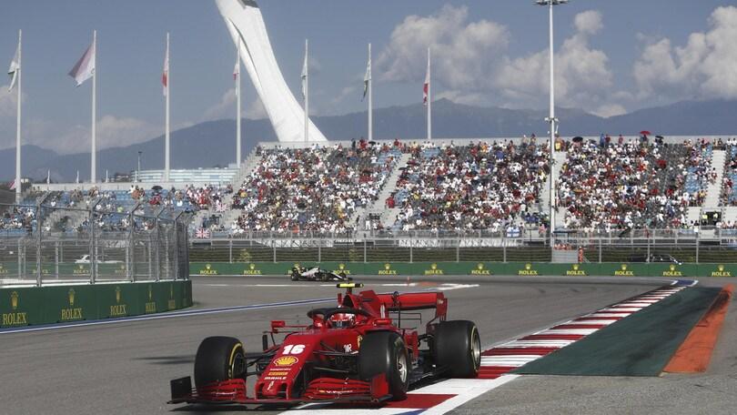 Gp Russia: Bottas vince davanti a Verstappen, Leclerc sesto