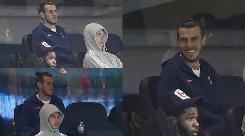 Bale freme per il ritorno in campo: è in tribuna per Tottenham-Newcastle