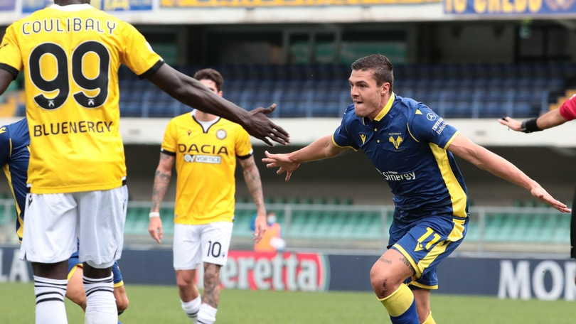 Verona-Udinese 1-0: Favilli manda Juric in testa