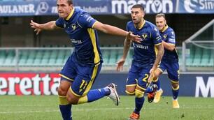 Favilli, la prima rete in Serie A manda il Verona in vetta