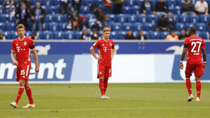 Bayern Monaco sconfitto, colpaccio dell'Hoffenheim: termina 4-1