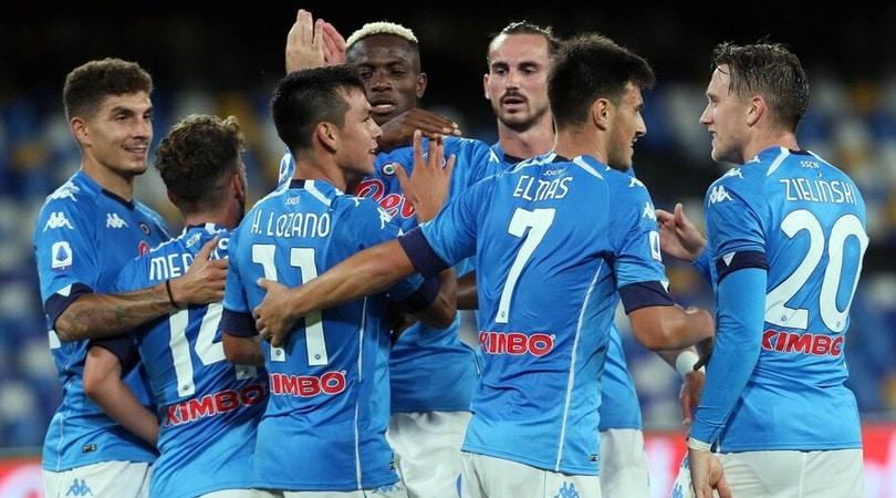 Napoli-Genoa 6-0: Gattuso vola con la formula champagne