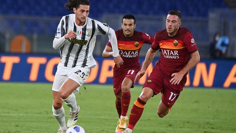 Roma-Juve 2-2, il tabellino