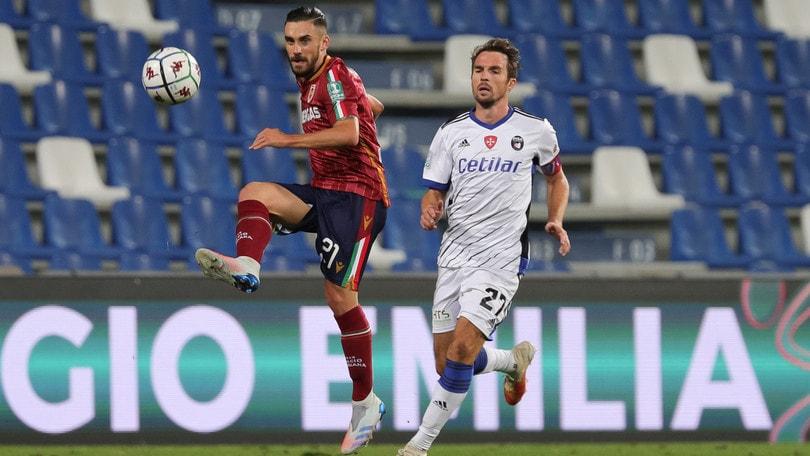 Reggiana-Pisa 2-2: Martinelli agguanta il pari nella ripresa