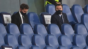 Roma-Juve, i Friedkin in tribuna all'Olimpico
