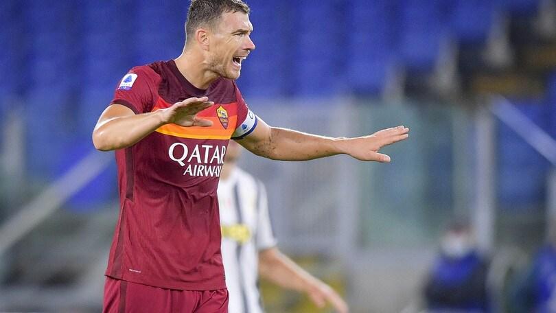 """Roma, i tifosi: """"Due punti persi, Fonseca non convince. Dzeko, quanti errori!"""""""