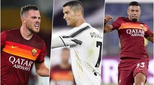 Roma-Juve, le pagelle: i migliori e i peggiori