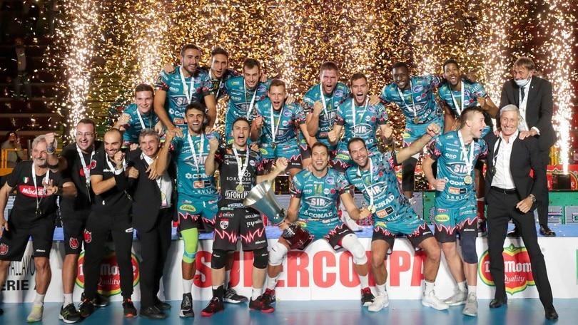 Supercoppa, la alza Perugia