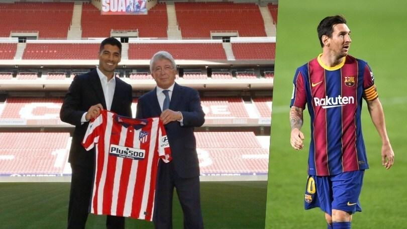 Dopo Suarez Cerezo chiama anche Messi all'Atletico Madrid: