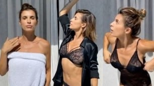 Elisabetta Canalis, il video in lingerie è già virale sui social
