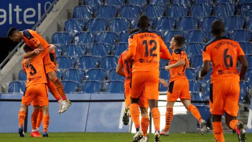 Liga: il Valencia stende la Real Sociedad di David Silva, tris del Getafe