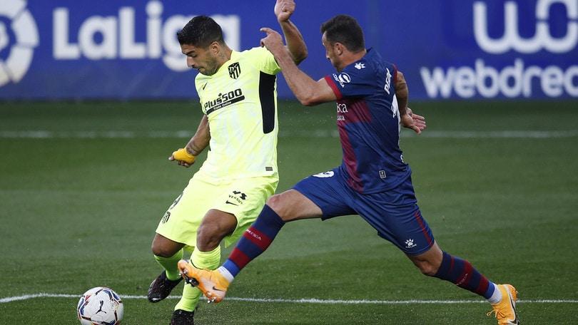 Suarez non incide e l'Atletico resta a secco: 0-0 con l'Huesca