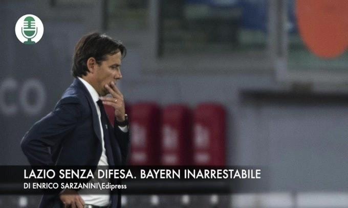 Lazio senza difesa. Bayern inarrestabile