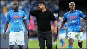 Juve-Napoli, Gattuso sceglie il super attacco: ecco la probabile formazione