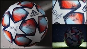 Champions League 2020-21, Adidas presenta il nuovo pallone: ecco le foto