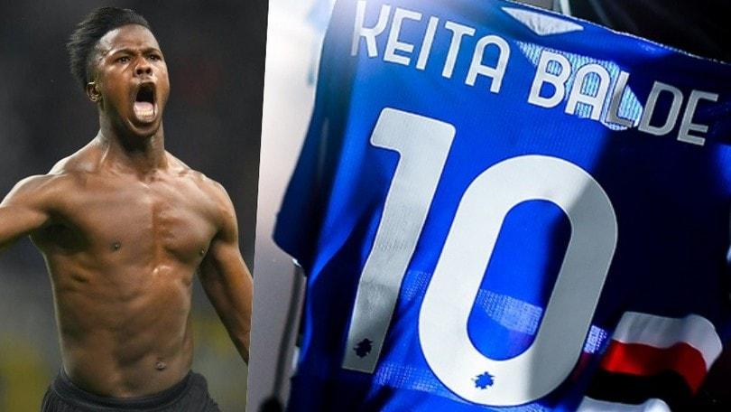 Sampdoria, ora Keita è ufficiale: