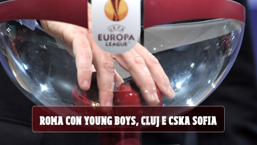 Europa League: Roma con Young Boys. Napoli, c'è la Real Sociedad. Milan con Celtic