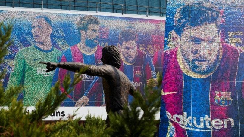 Messi-Barcellona, pace fatta. E al Camp Nou spunta un nuovo murales
