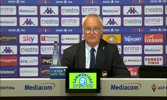 """Ranieri elogia Quagliarella: """"Mi piace quando ha sangue nelle vene"""""""