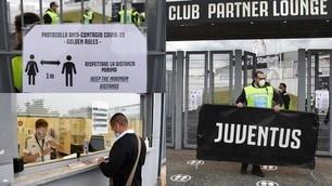 Allianz Stadium regolarmente aperto per Juve-Napoli