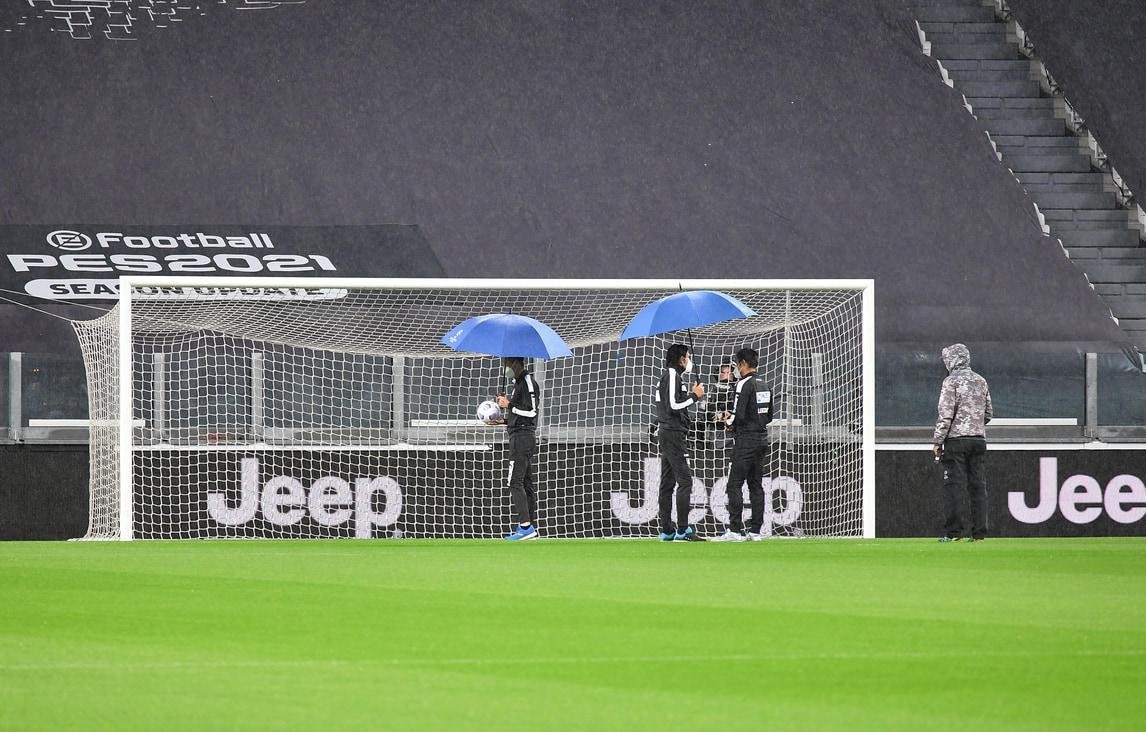 Juve-Napoli, l'Allianz Stadium nella notte del big-match mancato