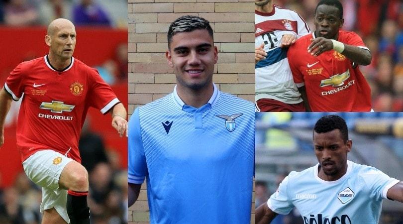 Lazio-Manchester United feeling di mercato: ecco chi ha giocato per entrambe le squadre