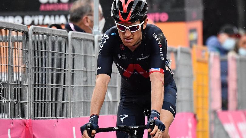 Giro d'Italia, Thomas si ritira: era uno dei favoriti per la vittoria finale