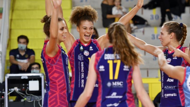 Champions Femminile: Scandicci è alla fase a Gironi
