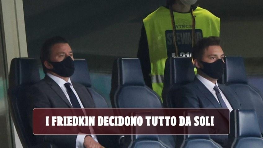 Roma, dallo stadio al nuovo ds: i Friedkin decidono tutto da soli