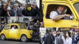 """Tom Cruise """"alla guida"""": si ferma il traffico di Roma"""