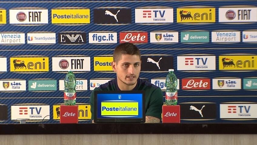 """Verratti: """"Sarebbe bello vincere l'europeo"""""""