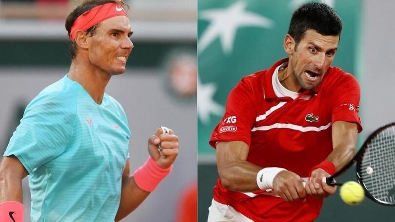 Nadal-Djokovic in finale al Roland Garros