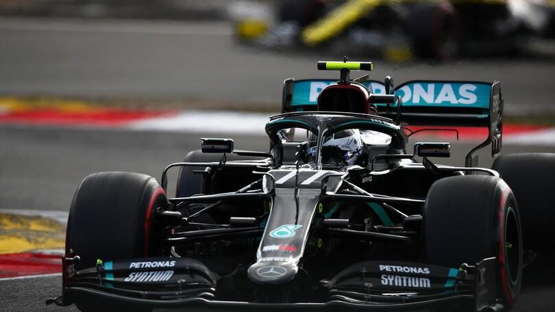 Gp Eifel, Bottas centra la pole davanti a Hamilton: ottimo Leclerc, è quarto