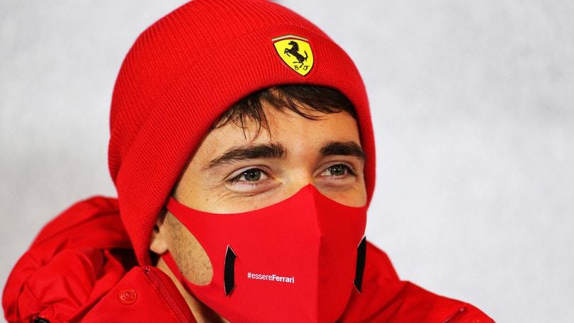 """Ferrari, Leclerc: """"Qualifiche inaspettate, è la direzione giusta"""""""