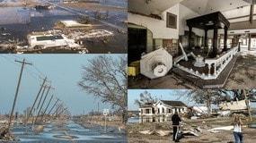 Uragano Delta in Louisiana, le immagini del disastro