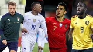 Da Mbappé-Ronaldo a Kane-Lukaku: la Nations League delle stelle