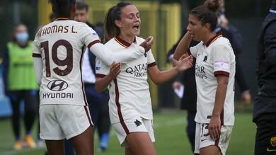 Alla Roma Women non basta la Serturini: 1-1 con l'Inter
