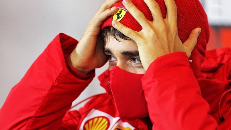 """Ferrari, Leclerc: """"Mi aspettavo di più, abbiamo fatto fatica"""""""
