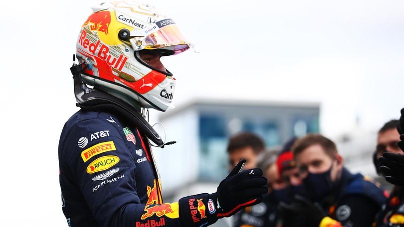"""Gp Eifel, Verstappen: """"Hamilton troppo veloce, secondo posto meritato"""""""