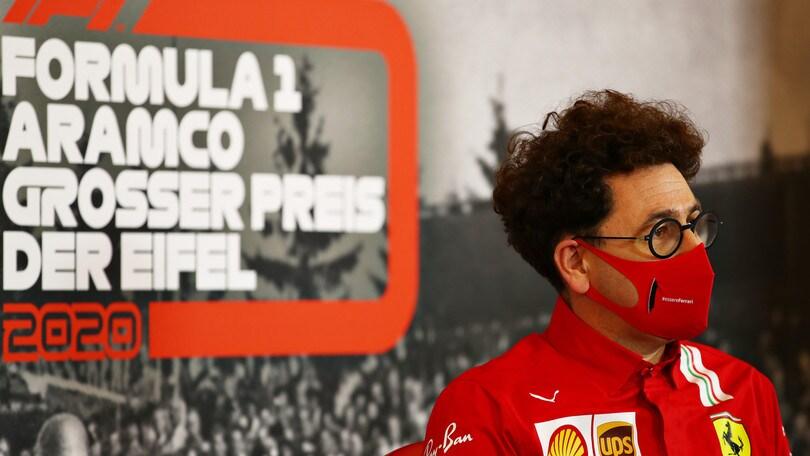 """Ferrari, Binotto: """"Gara difficile, non possiamo essere soddisfatti"""""""