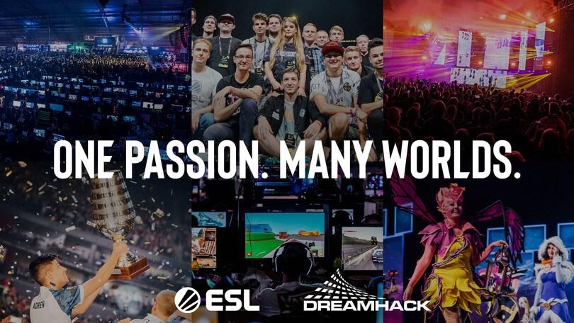 Fusione tra ESL e DreamHack: nasce ESL Gaming