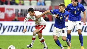 Italia, solo uno 0-0 con la Polonia: ma Mancini resta primo