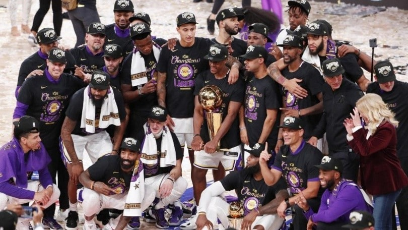 Nba, Lakers campioni dopo 10 anni! Heat si arrendono in gara-6
