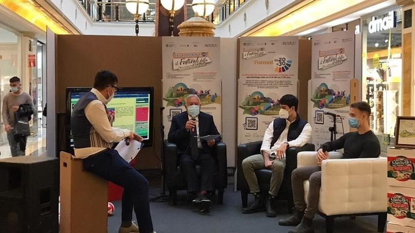 Volley Scuola al Festival della Sostenibilità per l'agenda FAO
