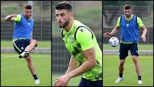 Hoedt, primo allenamento con la Lazio