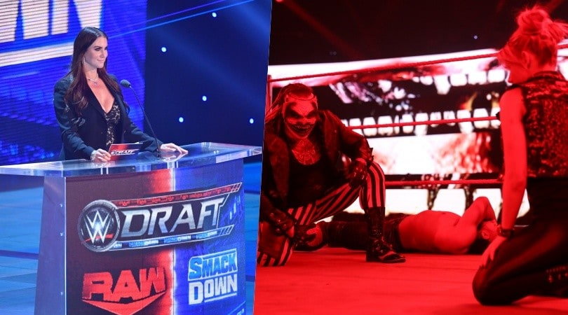 WWE Draft 2020, a Raw sbarcano The Fiend e Alexa Bliss