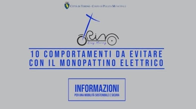 Dieci comportamenti da evitare con il monopattino elettrico | VIDEO